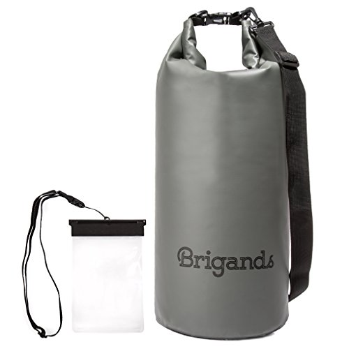Brigands Waterproof Dry Bag with Phone Case 20 Liter