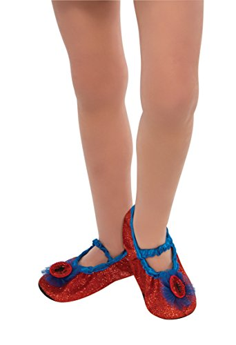 Rubie's Marvel Universe Classic Collection Spider-Girl Costume Slipper Shoes, Child