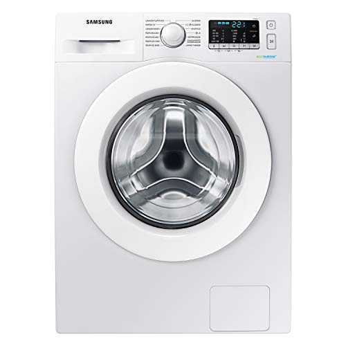 Samsung WW80J5555MW/ET Lavatrice Crystal Clean (8 kg, 1200 rpm) [Classe di efficienza energetica A+++]