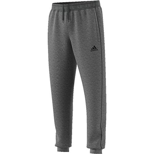 adidas Kinder CORE18 SW Pants, grau (dark grey heather/Black), Size 164