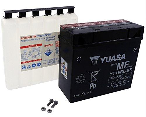 Accu Yuasaâ - YT19BL onderhoudsvrij [incl. 7,5â euro opslag]