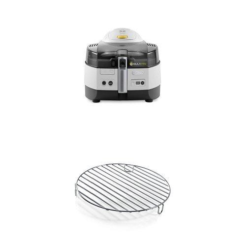 De'Longhi FH1363/1 Multicooker e Friggitrice + Griglia in Acciaio Inox