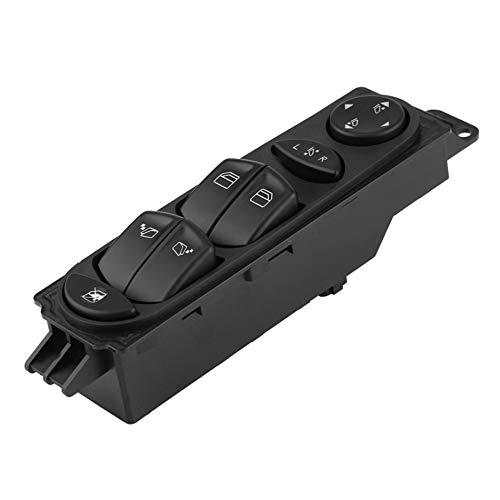 Kuinayouyi Interruptor del Regulador del Control de La Ventana Principal del Poder Negro del Coche para Vito W639
