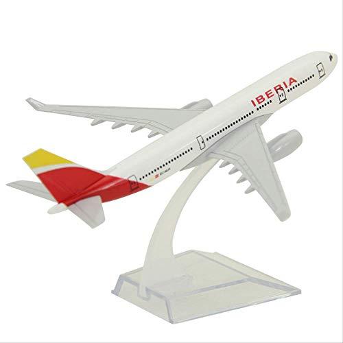 Aviones Airbus A330 España Iberia Airlines Avión Modelo Avión Aleación Diecast Niños Regalo Decoración Coleccionable