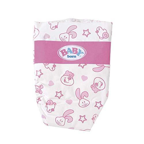 Baby Born - Pack 5 pañales para muñeca (Bandai 815816)