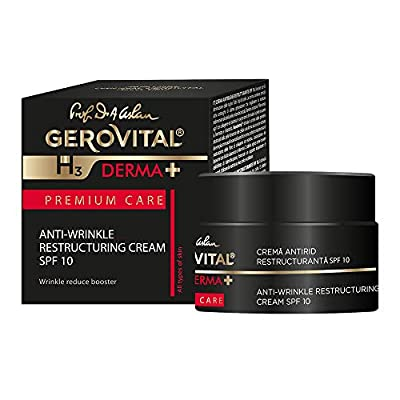 Restorative Multi Intensive Anti-Wrinkle Cream SFP 10/Gerovital H3Derma + Premium Care from Farmec