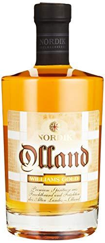 NORDIK Edelbrennerei & Spirituosenmanufaktur Obstbrand Olland Williams Gold (1 x 0.5l )