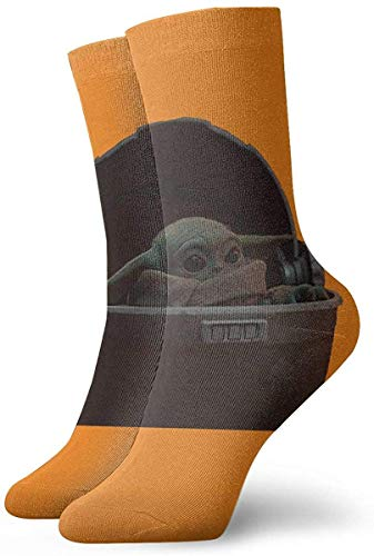 GYUB Calcetines Cheap Yoda Alien Socks Women's Comfort Crew