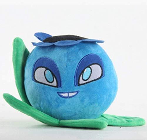 DINGX Pflanze gegen Zombies Spielzeug 15 cm, Pflanze Blaubeere Spielzeug für Kinder Geschenkanlagen vs Zombies Plüschspielzeug Chuangze