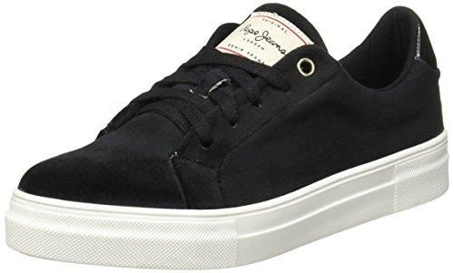 Pepe Jeans Osaka 2322 Zapatos de Estar en Casa para Mujer, Color Negro, 27