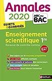 Annales ABC du Bac 2020 Enseignement Scientifique 1re