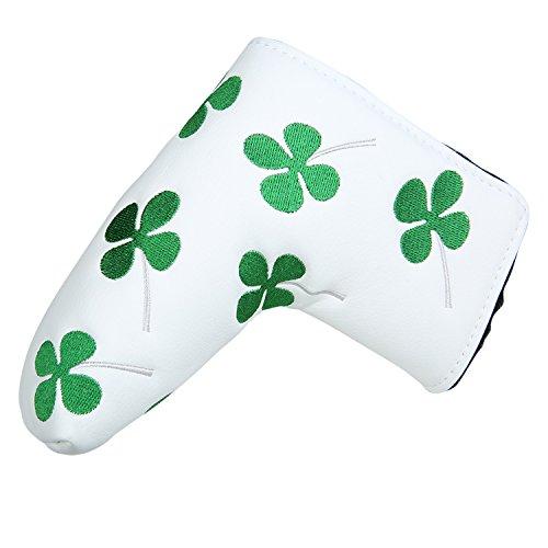 cheap Sword & Shield Sport White Green Shamrock Lucky Clover Stick Headgear Four Leaf Clover…