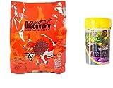 TAIYO PLUSS DISCOVERY FISH FOOD 1 KG (1.2MM PELLETS) + 10 GRAM TROPICAL FLAKES (MRP RS.50 WORTH FREE!!!)