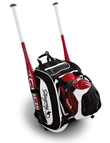 Stingray Large Capacity Baseball or Softball Backpack