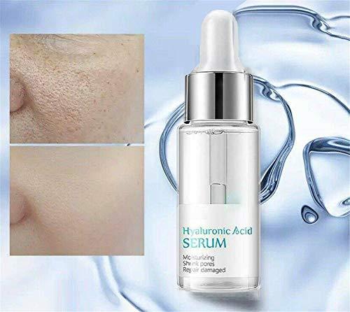 DBUKULELE 100% Strong Hyaluronic Acid Serum Anti Ageing, Skin Treats Vitamin C/Hyaluronic Acid Serum, Anti Wrinkle Face Cream, Moisturiser Face Cream for Dry Skin Face (B, 1 PCS)