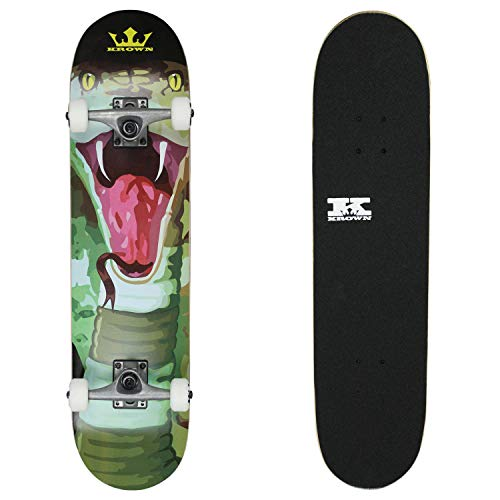 Krown KRRC72 Rookie Cobra Skateboard Complete Cobra