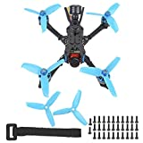 QITERSTAR Drone da Corsa FPV, Arrow3 152mm per Drone da Corsa Caddx Ratel 1200TVL Camera F4 OSD con...