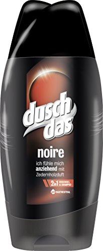 Duschdas for Men Duschgel Noire, 3er Doppelpack (6 x 250 ml)