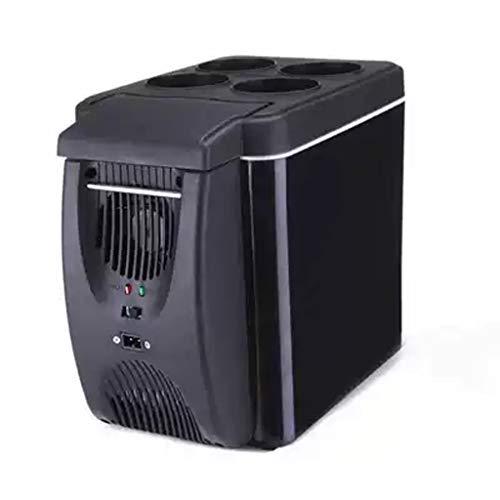 Cola Mini Kühlschrank, Energiesparende Tragbare Geräuscharme Speisen Und Getränkebierkühlung, Geeignet für Den Innenbereich, Auto 6L