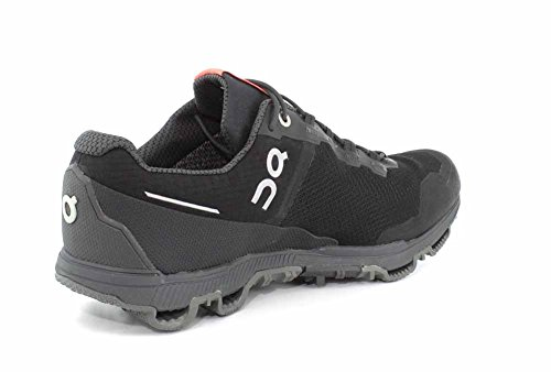 On-Running Mens Cloudventure Waterproof Black/Dark Trail Runner - 8
