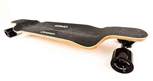Onda-Motion Landpaddling-shop Unisex– Erwachsene Longboard Onda Street 2020 Drop-Deck, für Langstrecken (Long-Distance), sehr gutes Rollverhalten, 105 cm