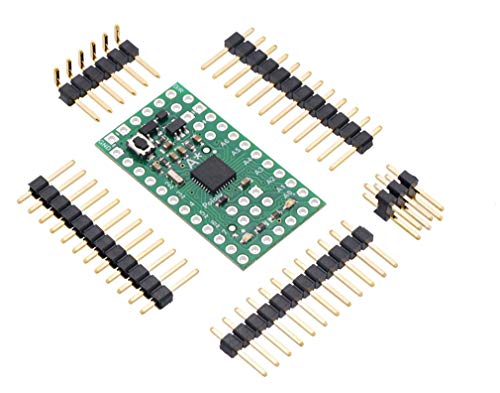 Pololu A-Star 328PB Micro Programmable Controller 5V 20MHz ATmega328PB AVR Microcontroller with Bootloader & Backward-Compatible Replacement ISP Pins Accessible 24 Digital I/Os for Robot 3161