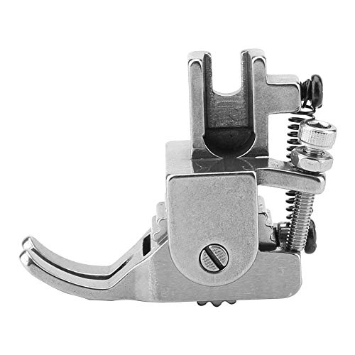 Jarchii Nähmaschinen-Nähfuß, Verstellbarer Nähmaschinen-Nähfuß Nylon-Walze Stahl-Walzen-Verteilungswerkzeug für dicken Stoff-Ledermantel(#2)