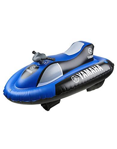 Yamaha YME23004, Wassermotorrad, aufblasbar, Aqua Cruise, Unisex-Kinder, blau/schwarz, 148 x 87 cm (aufgeblasen)