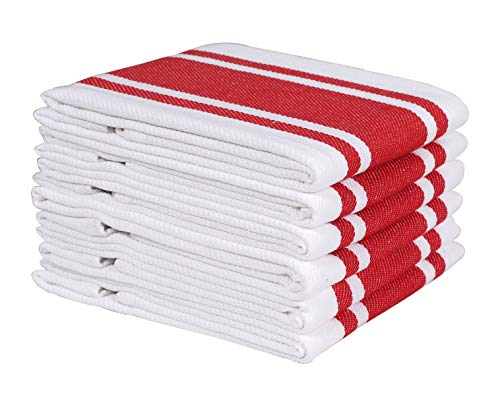Top 10 Best Selling List for commercial kitchen striped dish towels