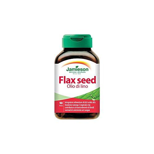 Flax Seed Olio di lino - Jamieson