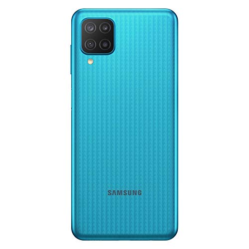 Samsung Galaxy M12 Android Smartphone ohne Vertrag, Quad-Kamera, 6,5 Zoll Infinity-V Display, starker 5.000 mAh Akku, 64 GB/4 GB, Handy in Grün, (Deutsche Version) [Exklusiv bei Amazon]