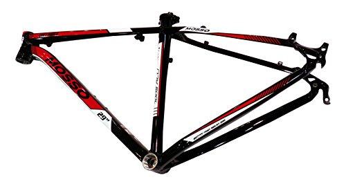 """Mosso MTB 2932TB - Cuadro, Color Negro/Rojo, Talla 15"""""""