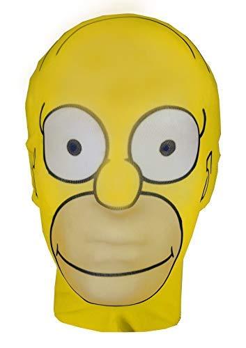 Homer Simpson - The Simpsons Parodie - Ganzkopfmaske aus Lycra - Halloween Kostüm
