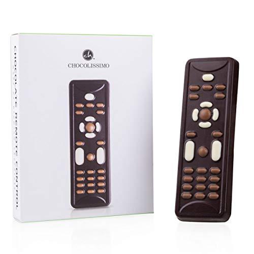 Chocolade afstandsbediening | Pure chocolade zapper | Figuurtje | Cadeau | Geschenk voor Vaderdag | Moederdag | Verjaardag | Pensioen | Grappig Cadeau | Man | Vrouw | Kind