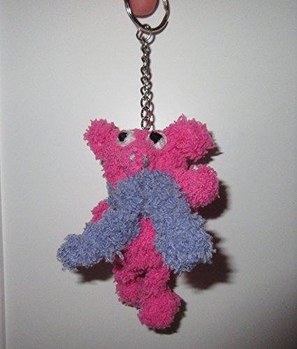 Schlüsselanhänger Glücksbringer Schwein Schweinchen pink rosa