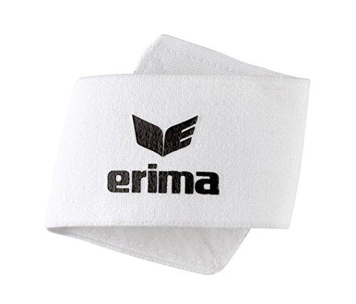 Erima Guard Stays Schienbeinschoner, weiß, One Size
