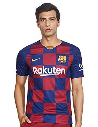 NIKE Barcelona 2019/2020 Camiseta, Hombre, Azul (1ª Equipación), S