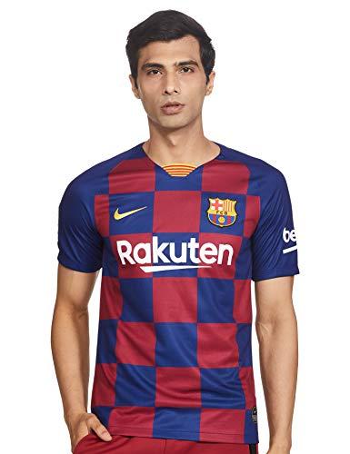 NIKE Barcelona 2019/2020 Camiseta, Hombre, Azul (1ª Equipación), L