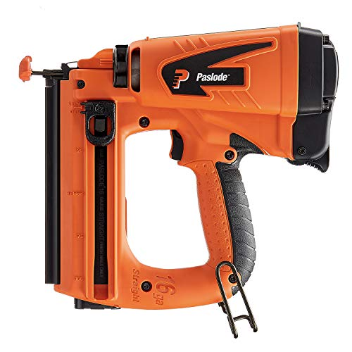 Paslode, Cordless Finish Nailer, 916000, 16 Gauge, Battery and Fuel Cell Powered, No Compressor Needed