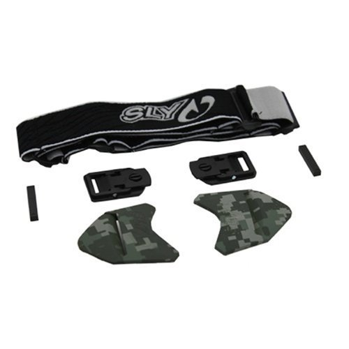 Unbekannt Goggle Parts–SLY Profit Strap Kit-Digital Camo by SLY
