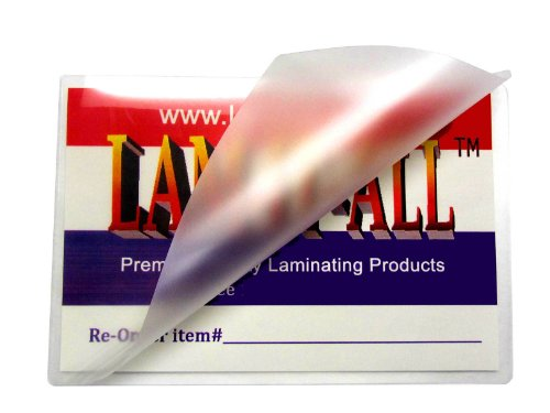 18 x 24 Laminating Pouches 3 Mil Map Laminator Sleeves (Pk of 100) by LAM-IT-ALL
