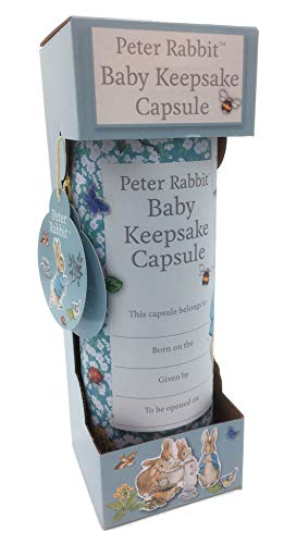 Beatrix Potter Peter Rabbit Baby Keepsake Capsule by Robert Frederick