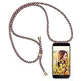 Funda con Cuerda para Xiaomi Mi 9 Lite, [Moda y Practico] [ Anti-Choque] [Anti-rasguños] Suave...