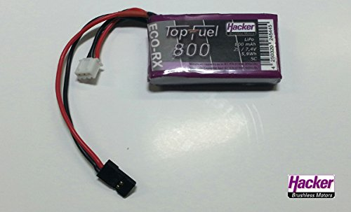 Hacker Empfängerakku TopFuel LiPo ECO-RX 800 2S 20750216
