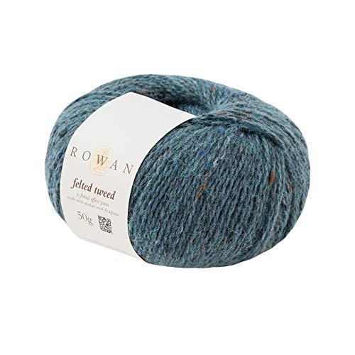 Rowan Z036000-00194 Handstrickgarn, 50% Wolle, Viskose, 25% Alpaka, Delft, onesize