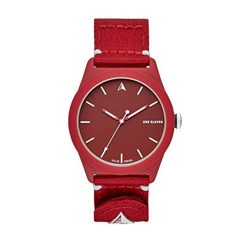 One Eleven Quartz Watch with Nylon Strap, Red, 22 (Model: CBOE2023)