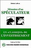 Mémoires d'un spéculateur - Pfi - 01/07/1997