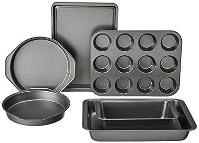 AmazonBasics 6-Piece Nonstick Oven Bakeware Baking Set