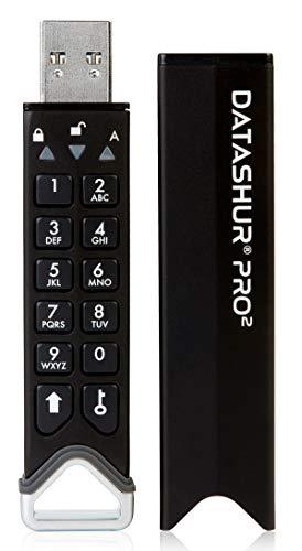 iStorage datAshur Pro2 128GB - USB 3.2 Secure Encrypted Flash Drive