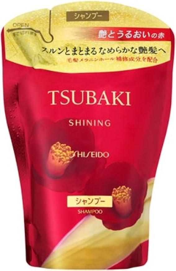 忍耐曲げる起きろTSUBAKI シャイニングシャンプー つめかえ用 400mL